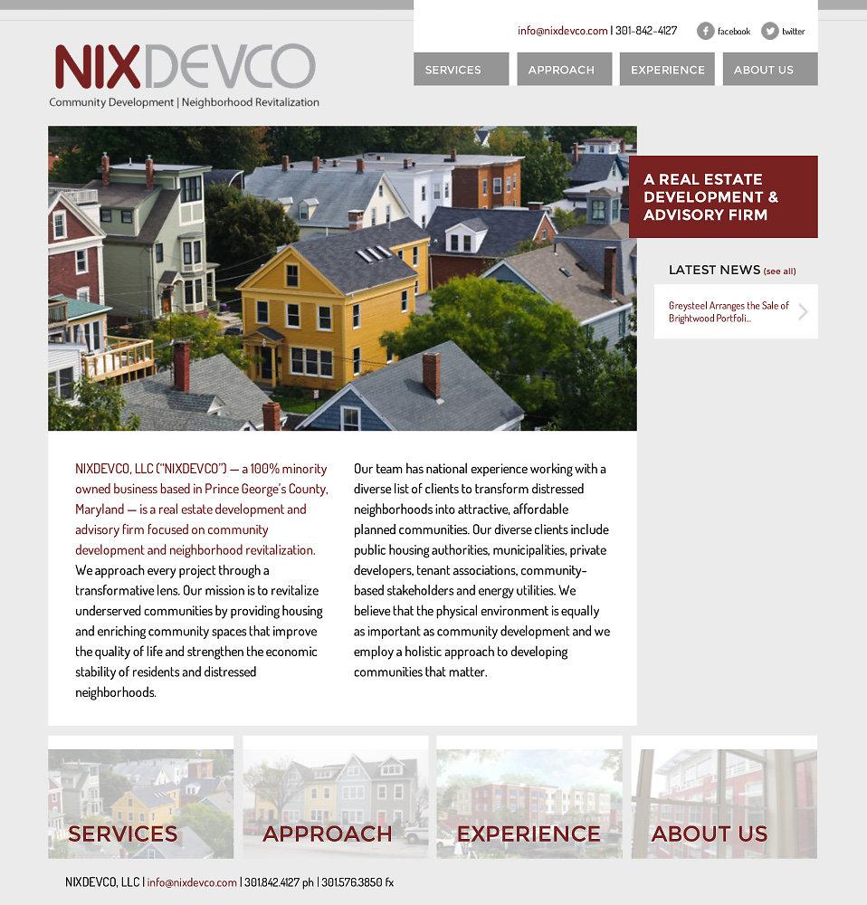NixDevCo Website
